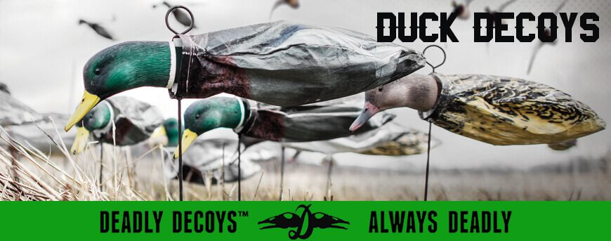 Deadly Decoys' Duck Decoys