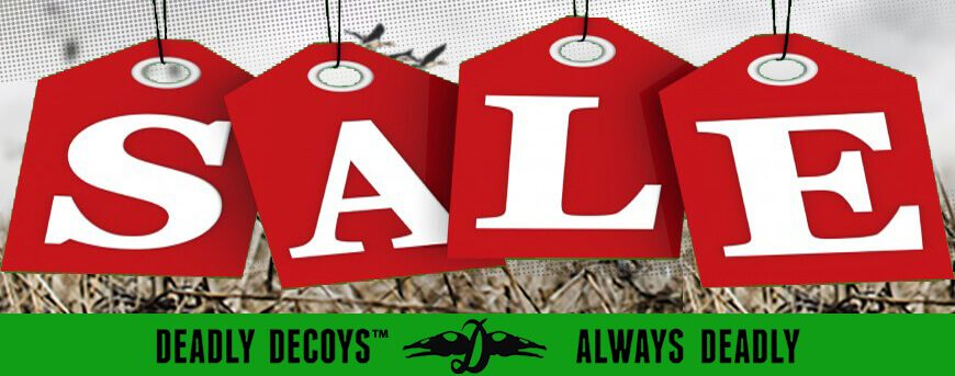 Deadly Decoy's Sales Items